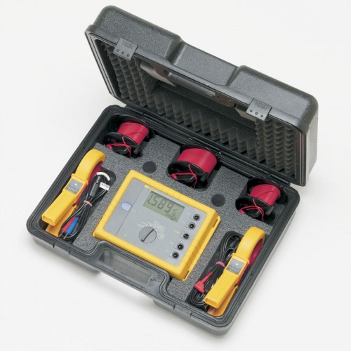 Mitchell Instrument Co Tester : Fluke kit advanced geo earth ground tester with