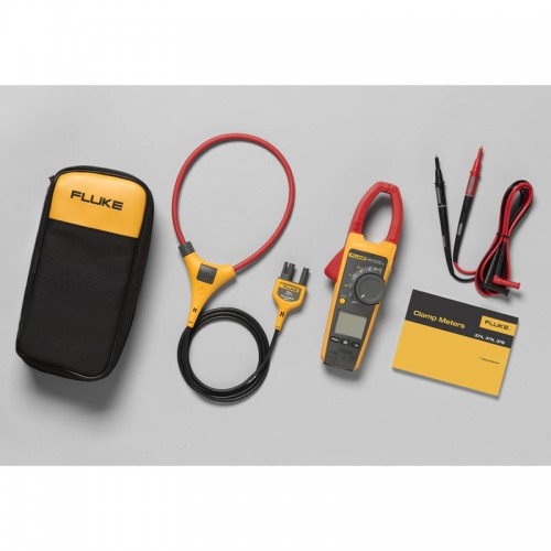 Fluke Multimeter Clamp On : Fluke amp trms ac dc current clamp meter with