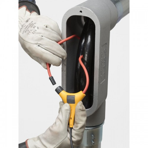 Dc Clamp On Probe : Fluke remote display amp trms ac dc current clamp