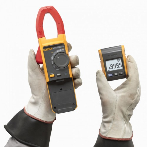 Fluke Dc Clamp On Meter : Fluke remote display amp trms ac dc current clamp