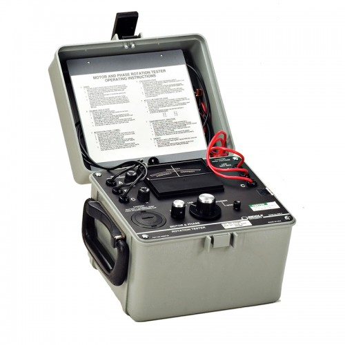 Megger 560060 Phase Rotation And Motor Rotation Meter