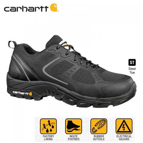 e1fedaf55c5 Carhartt CMO3251 Men's Electrical Hazard Rated Low Work Shoe with ...