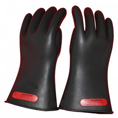 High Voltage Rubber Gloves : Salisbury by honeywell e b insulated high voltage