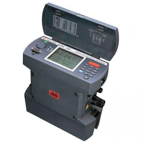 Milli Micro Ohmmeter Or Low Resistance Ohmmeter : Megger dlro advanced digital low resistance ohmmeter