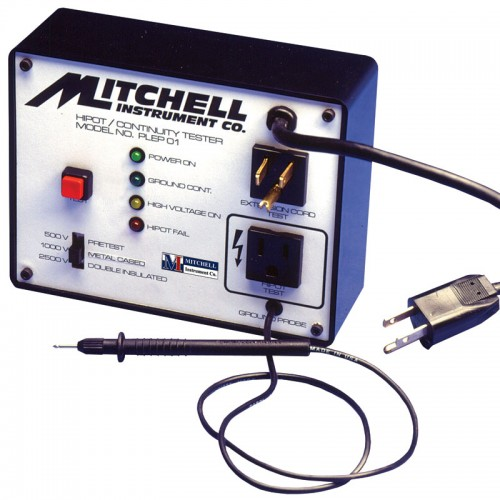 Mitchell Instrument Co Tester : Mitchell ep tool and appliance hipot tester