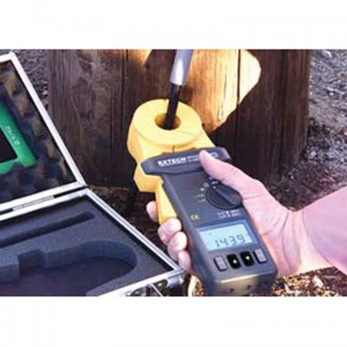 Extech Earth Resistance Tester : Extech clamp on ground resistance tester mitchell