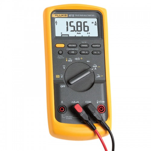 Digital Voltmeter Kit : Fluke v digital multimeter mitchell instrument company