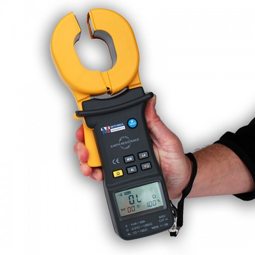 Ground Impedance Tester : Mitchell mit clamp on ground resistance tester