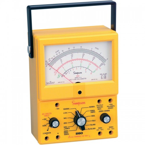 Simpson Electric Ac High Voltage Probe : Simpson xpi analog multimeter vom mitchell