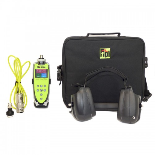 Tpi 9080k2 Smart Trend Vibration Meter With All Accessories Kit