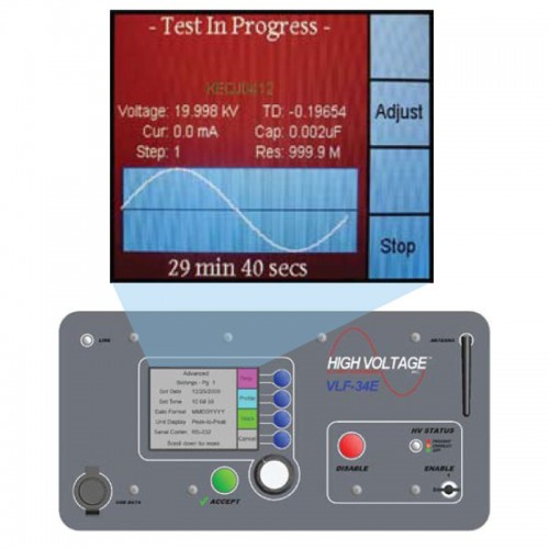 Low Voltage Hipot Tester : High voltage vlf e kv very low frequency hipot