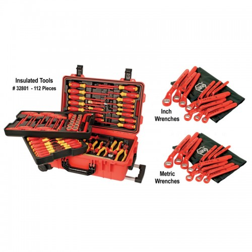 High Voltage Tools : Wiha tools high voltage safety tool set