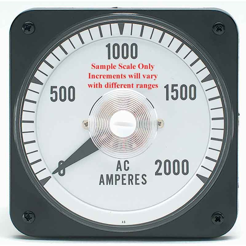 Ampere Meter Instrument : Yokogawa ac current amp panel meter a input from