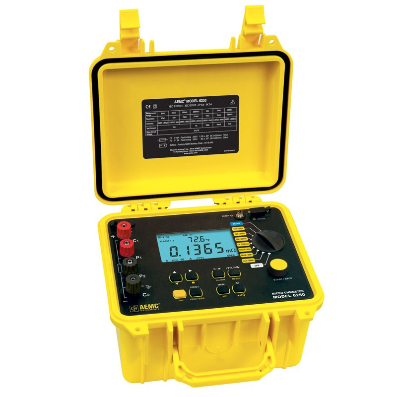 Pg Amp E Meter Number How Can I Know : Aemc micro ohmmeter advanced amp milliohmmeter