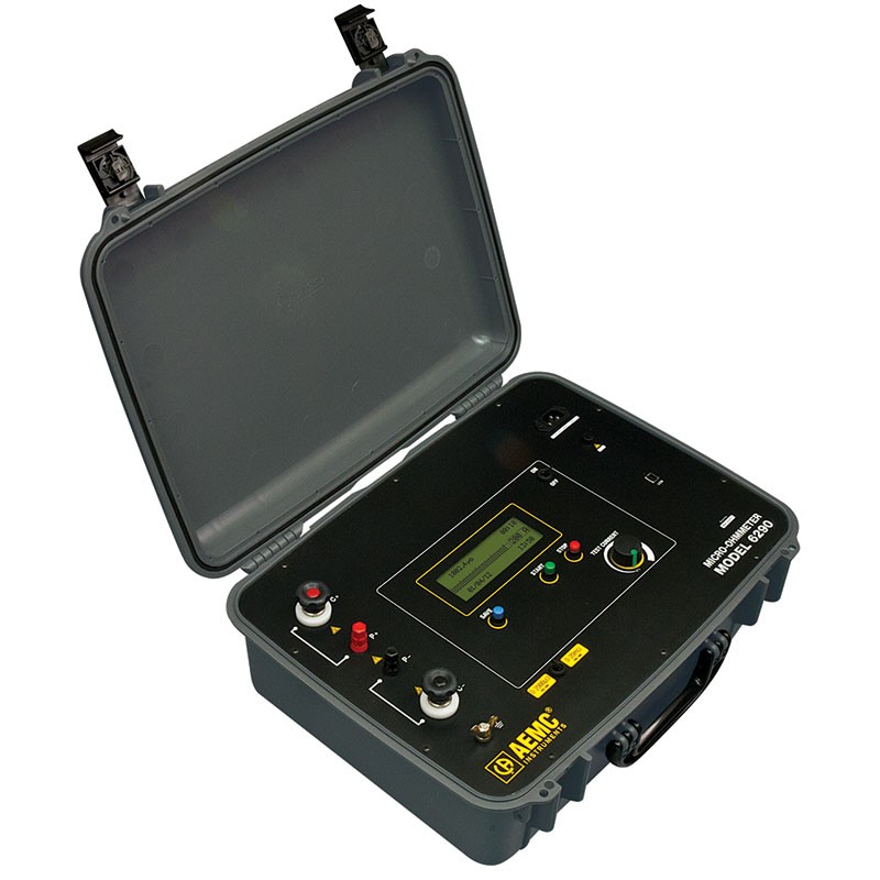 Pg Amp E Meter Number How Can I Know : Aemc micro ohmmeter amp mitchell instrument company