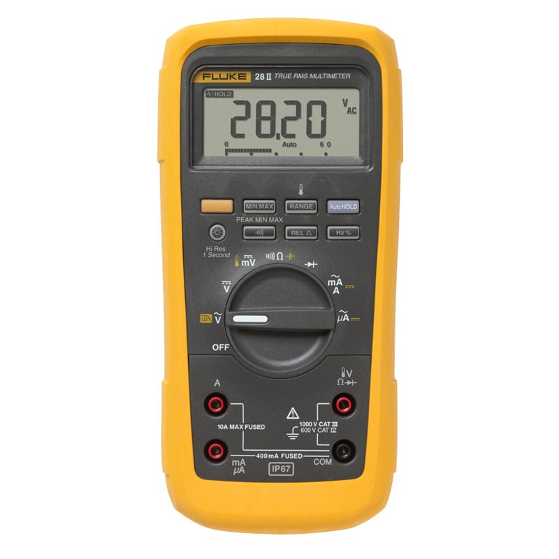 Fluke 28ii Waterproof Industrial Multimeter