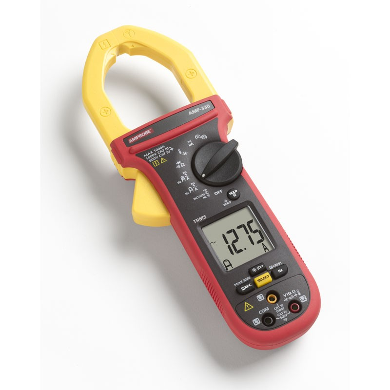 Amp Meter Clamp On : Amprobe amp advanced large jaw trms ac dc
