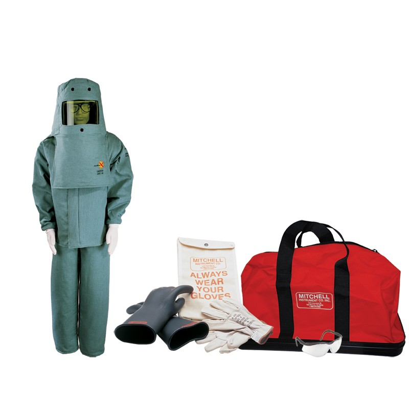 High Voltage Ppe : Mitchell instruments cal arc flash ppe kit with class