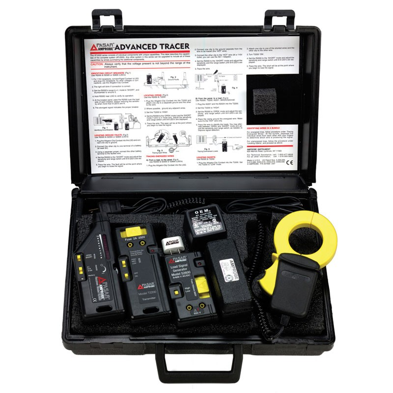 Amprobe AT-2005-A Advanced Circuit Tracer - Full Kit