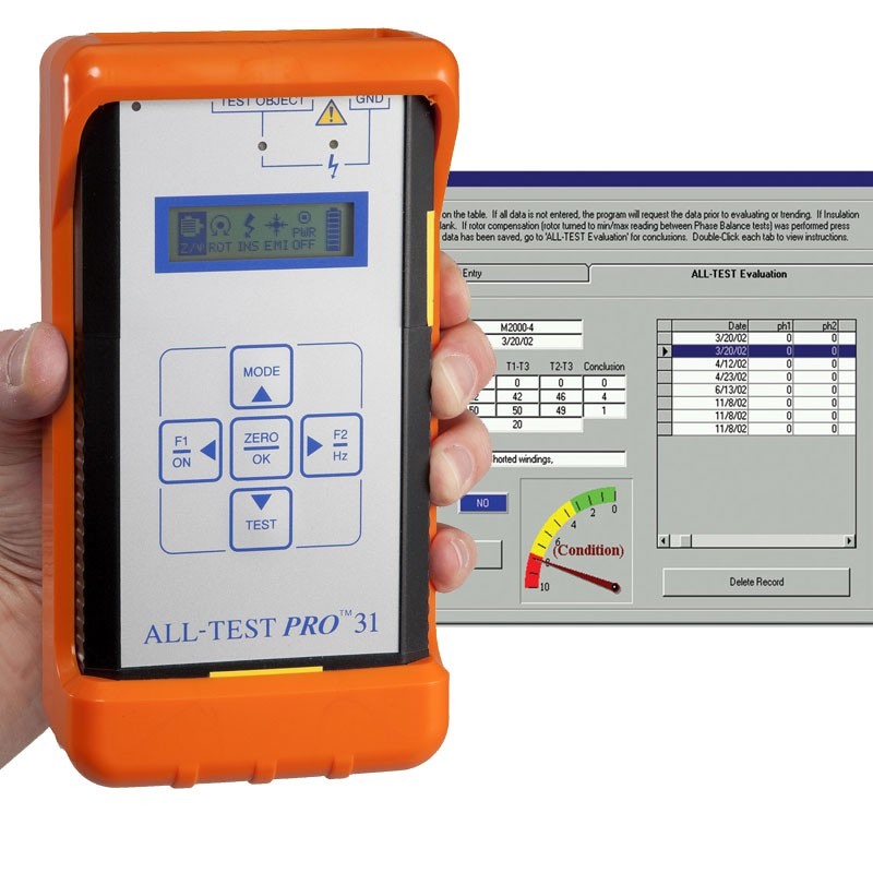 All Test Pro 31 Motor Testing Kit With Software Mitchell
