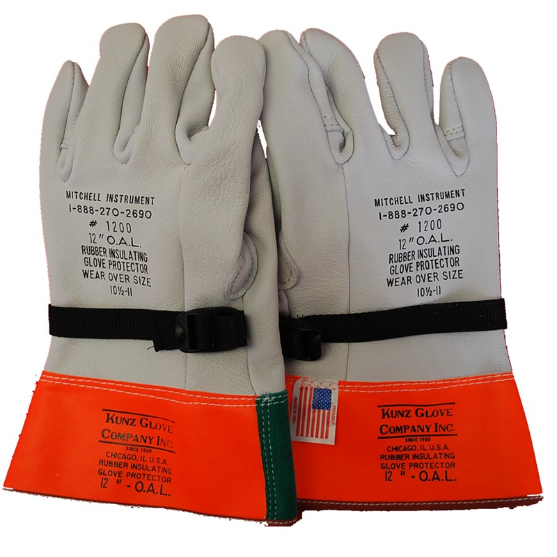 Leather Glove Protectors for High Voltage Gloves