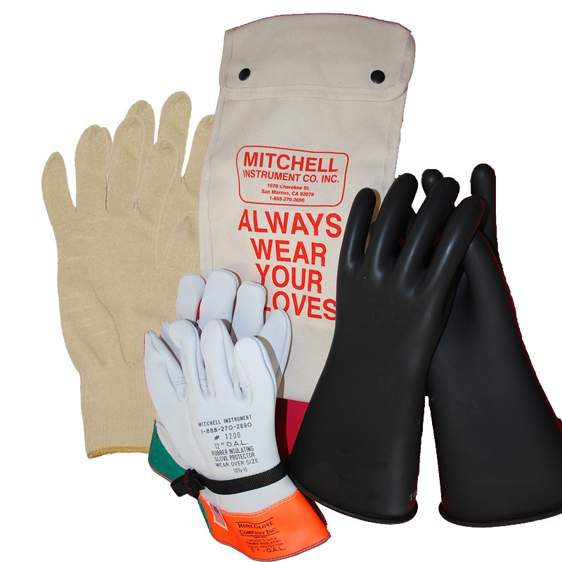 Electrical Glove Tester : Mitchell instrument class kv insulated electrician