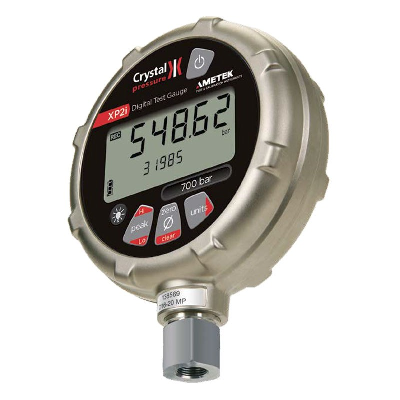 Crystal 30PSIXP2i Digital Pressure Test Gauge 0-30PSI for Precision