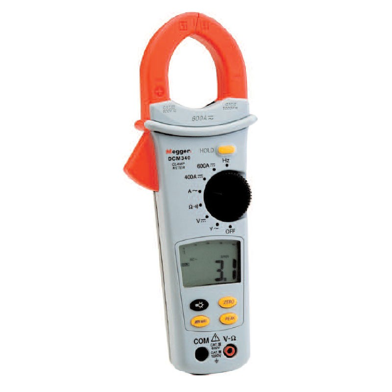 Gm Instruments Digital Clamp Meter : Megger dcm en ac dc clamp on ammeter mitchell