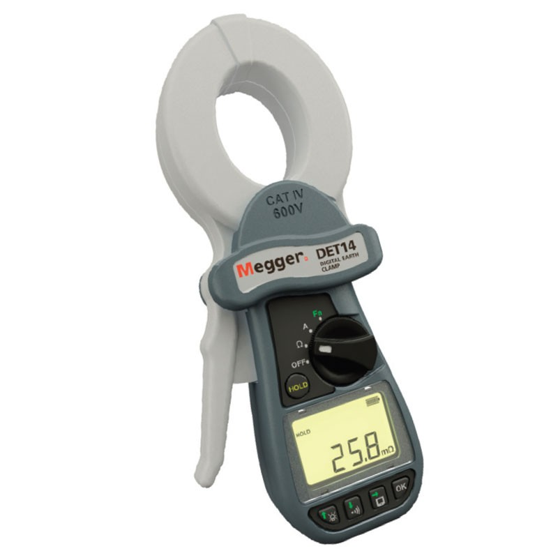 Ground Resistance Test : Megger det c earth ground clamp on tester mitchell