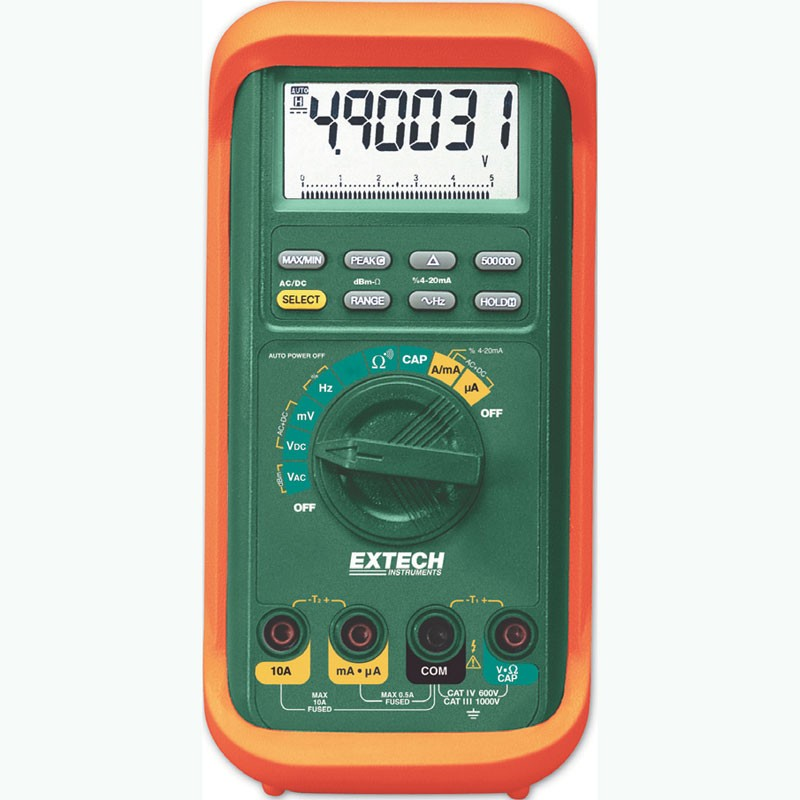 Extech MM560A MultiMaster® High-Accuracy Multimeter