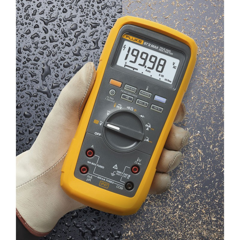 Fluke 87 MAX True-rms Digital Multimeter for Extreme