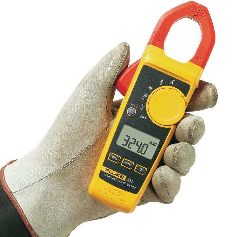 Ac Amp Meter : Fluke clamp on amp meter amps ac dc current