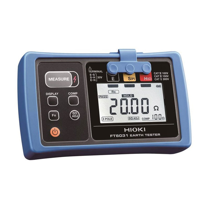 Hioki FT6031-03 Waterproof Earth Ground Tester