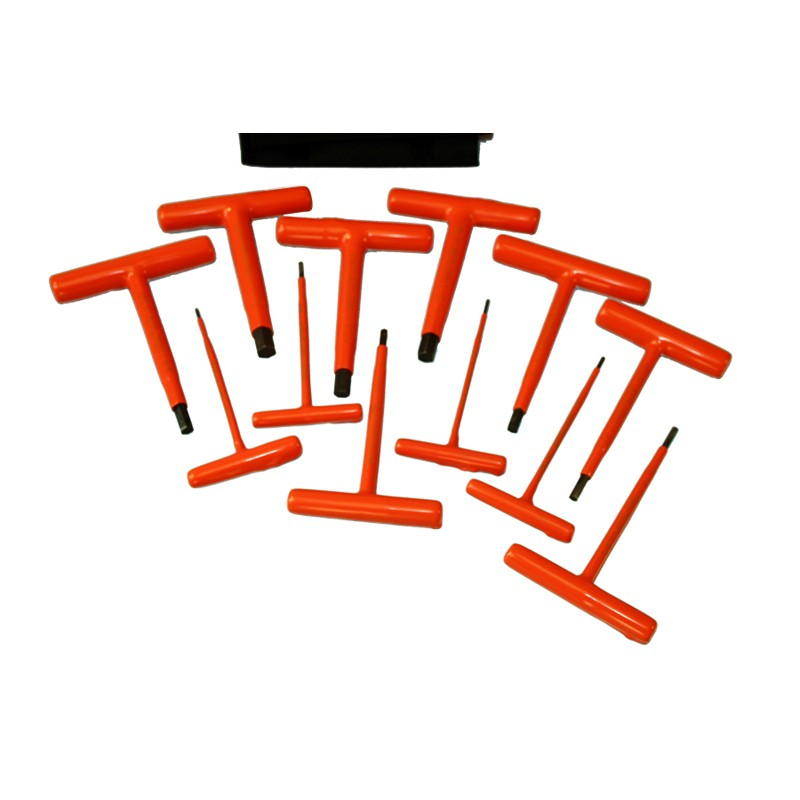 Cementex Hks 12t120 Insulated 12 Piece T Handle Hex Key