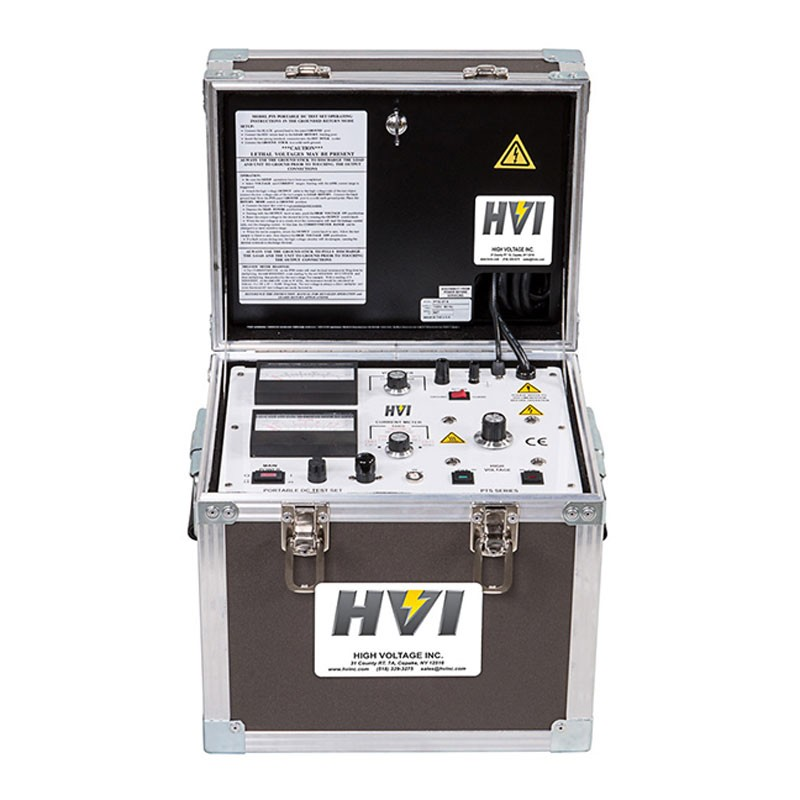 High Voltage Electrical Testers : High voltage pts dc hipot tester kv output
