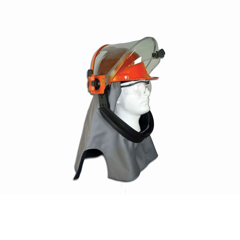Salisbury LFH40-SPL 40 cal/cm2 Arc Flash Protection Lift Front Hood with PrismShield - True Color Recognition Face Shield