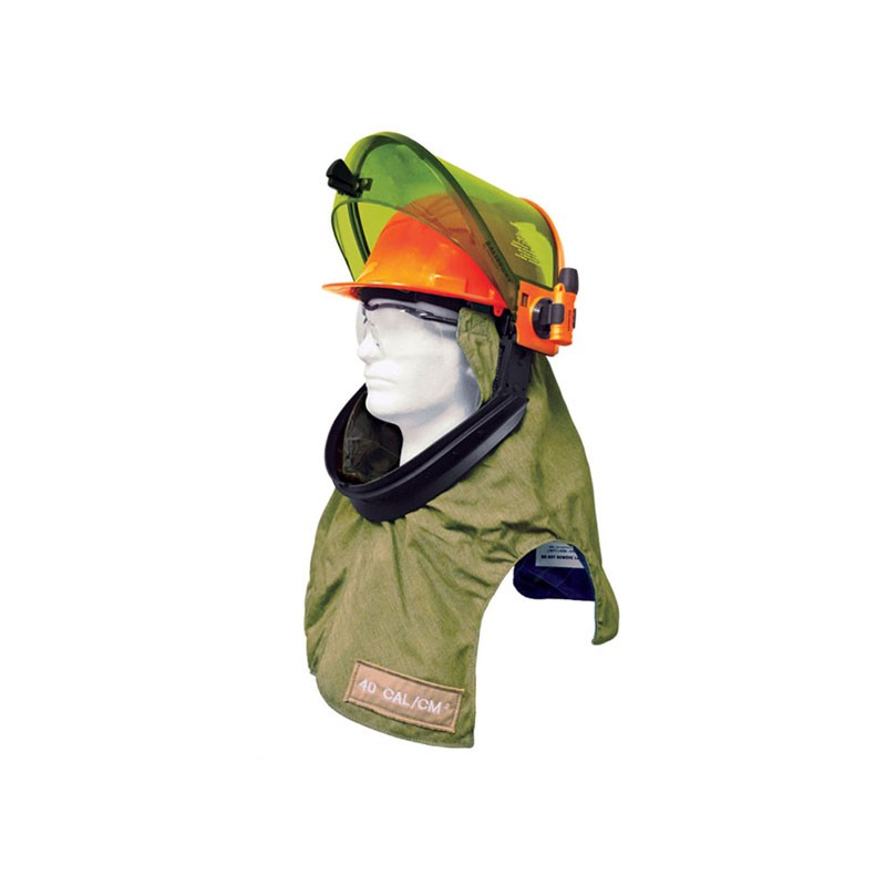 Salisbury LFH40PLT 40 cal/cm2 Arc Flash Protection Premium Light Weight Lift Front Hood