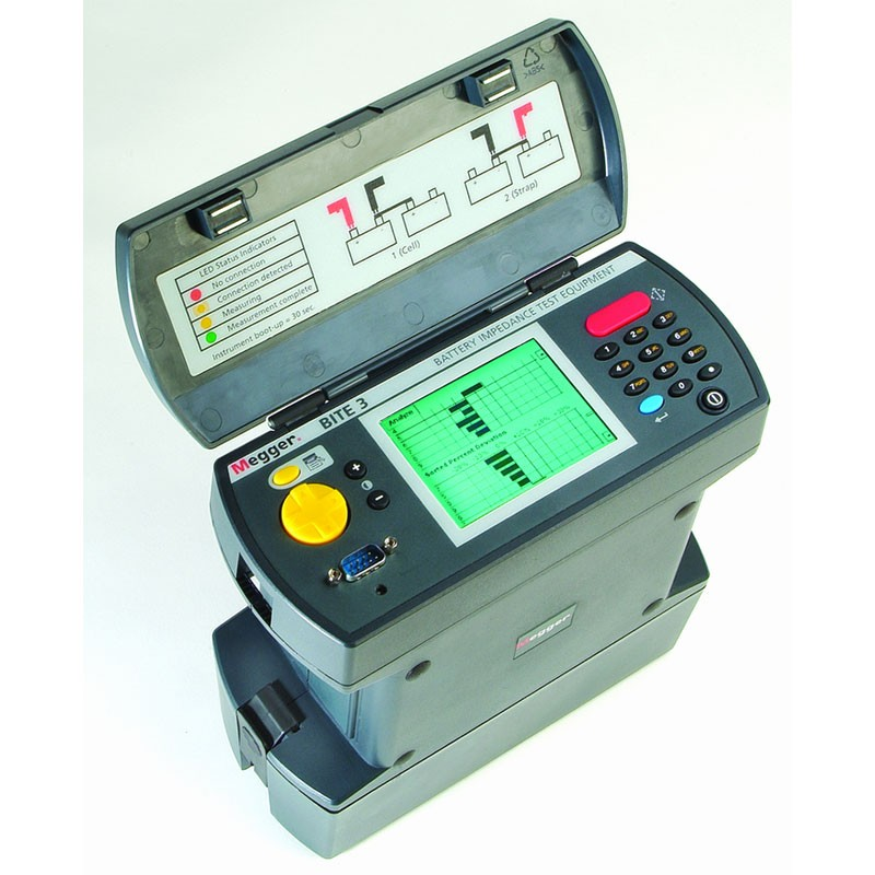 Battery Impedance Tester : Megger bite battery impedance tester for ups systems