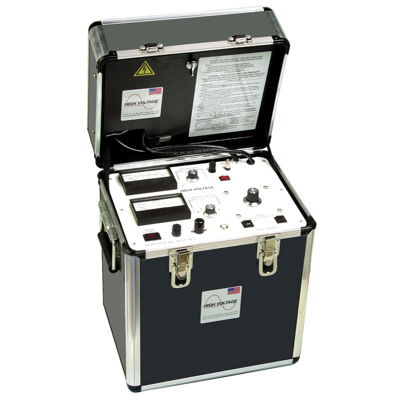 High Voltage Tester For Cable : High voltage pts dc hipot tester kv output mitchell