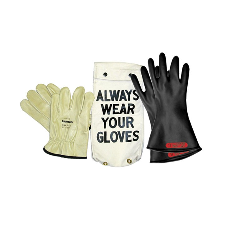 Insulating Rubber Glove Kit Class 0 Up To 1000v