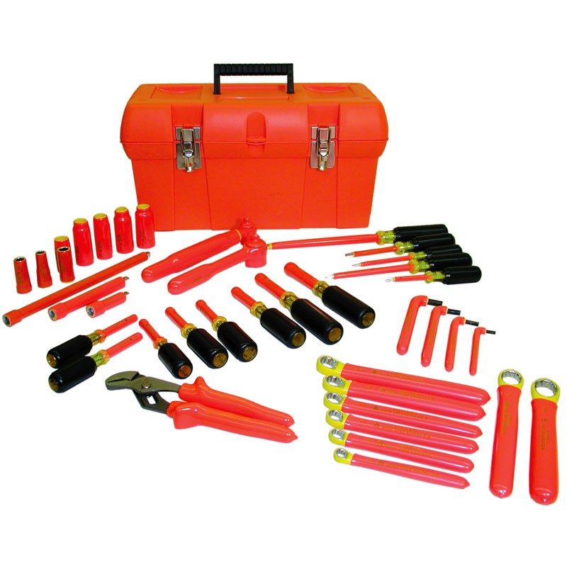 8x 500V Portable Insulated Electrician Screwdriver Kit Tool Set Strong Magnetic