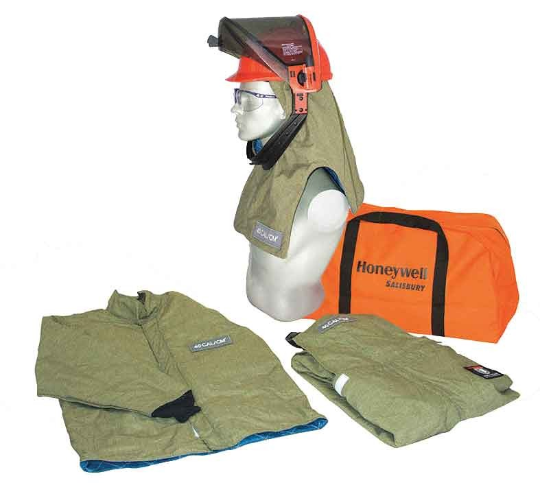 Salisbury by Honeywell SK40-2 Arc Flash Protective Flash Suit Kits Double Extra Large 40 Cal//cm2