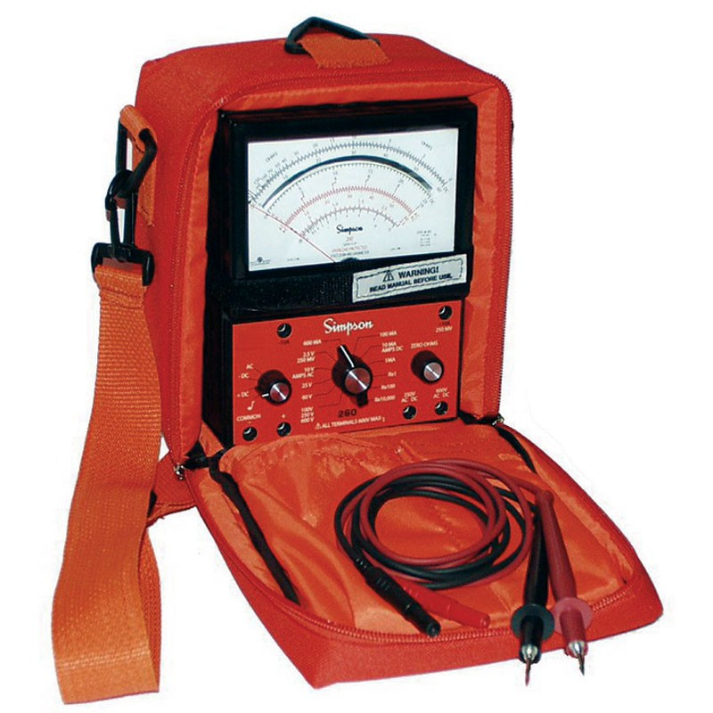 Simpson Analog Meter : Simpson sp industrial safety vom analog multimeter