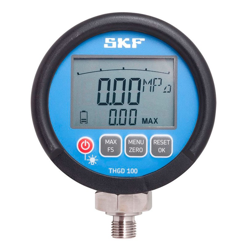 High Pressure Meter : Skf thgd high pressure digital oil gauge