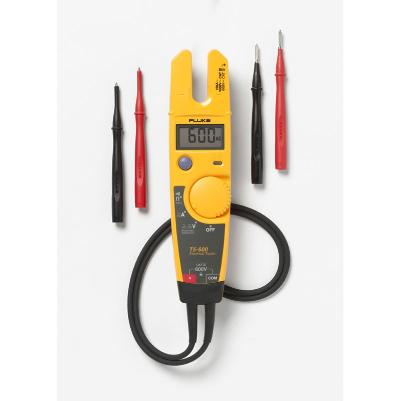 Electric Current Tester : Fluke t electrical tester voltage continuity and