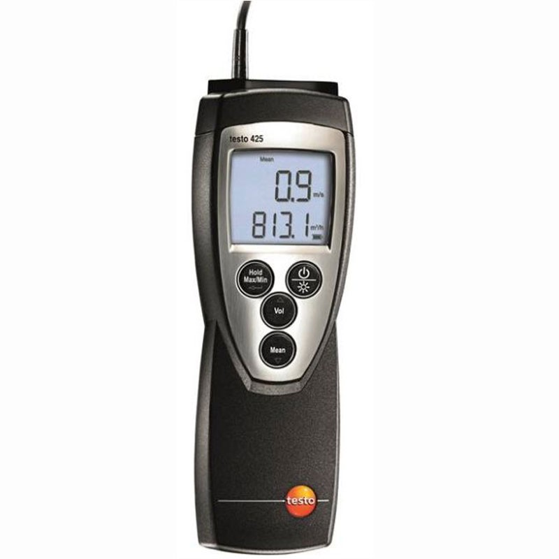Testo 425 CFM Hot Wire Anemometer - Mitchell Instrument Company