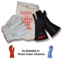 Class 0 Insulated Low Voltage Glove Kit - 11 inch 1000V Gloves