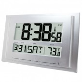 Traceable® 1076 Digital Radio Atomic Wall Clock with NIST Calibration Certificate