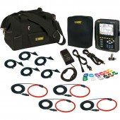 AEMC PowerPad III Model 8336 Advanced Power Quality Analyzer High Current Kit