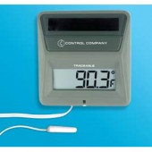 Solar-Powered Thermometer
